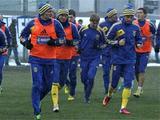 ФОТОрепортаж: открытая тренировка сборной Украины (23 фото)
