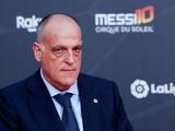 Тебас: «Ла лига возобновится 11 июня. Новый сезон стартует 12 сентября»