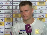 Владимир Лысенко: «Мы выходили играть на победу в сегодняшнем матче»