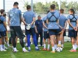«Динамо» в рамках подготовки к сезону провело первую тренировку под руководством Луческу (ФОТО)