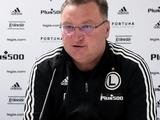Тренер «Легии»: «Все в команде любят Шабанова. Хотим и в дальнейшем иметь хороший контакт с «Динамо»