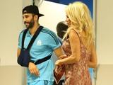 Памела Андерсон посетила матч «Марселя» в Лиге Европы, чтобы поболеть за Рами