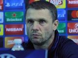 Сергей РЕБРОВ: «Важно выдержать стартовый натиск «Наполи», и потом играть в свой футбол»