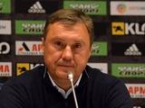 «Динамо» — «Мариуполь» — 2:1. Послематчевая пресс-конференция