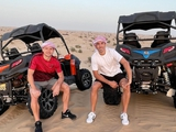 «Наслаждаюсь несколькими днями с братом!» — де Пена и Дуэлунд продолжают отдых в ОАЭ (ФОТО)