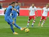 Ярмоленко впервые за 6 лет не забил с пенальти за сборную Украины