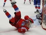 Фантастика!!! Не имеет аналогов в Мире! Козел играет в хоккей. Трюк российского цирка.