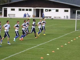Третий день «Динамо» в Альпах