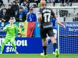 Андрей Лунин провел второй матч за «Овьедо». И пропустил один мяч (ВИДЕО)