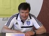 Юрий Ярошенко: «Молодые футболисты «Динамо-2» оставили очень хорошее впечатление»