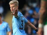 Зинченко снова «вылетел» из заявки «Манчестер Сити»
