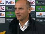 Виктор Скрипник: «Мы играли смело и наиграли на свой гол»