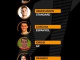 УЕФА опубликовал символическую сборную недели Лиги Европы. Испанцы доминируют (ФОТО)