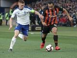 Болельщики назвали Виктора Цыганкова игроком матча «Шахтер» — «Динамо»