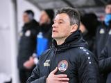 Официально: Виталий Шумский уволен с поста наставника «Львова». Имя нового главного тренера станет известно 2 марта