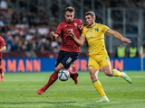 Товарищеский матч. Чехия — Украина — 1:1. Обзор матча, статистика
