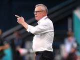 Янне Андерссон: «Уверен, в матче против нас мы увидим совсем другую сборную Украины»