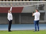 Моуринью рассказал, как заставил поменять ворота на стадионе «Шкендии»