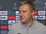 Александр Хацкевич: «Не любит футбол такого...»
