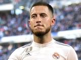 Каждая минута Азара на поле стоит «Реалу» 72 тысячи евро