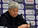 «Динамо» — «Ворскла» — 2:0. Послематчевая пресс-конференция. Луческу: «С VAR можно вообще вшестером остаться...»