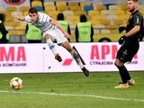 В матче «Динамо» — «Колос» точность ударов по воротам составила 13%
