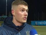 Артем Довбик: «Надеюсь, в следующий раз за сборную Украины обязательно забью»