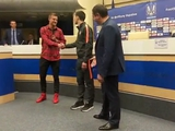 Андрей Ярмоленко и Тарас Степаненко помирились перед журналистами (ВИДЕО)