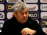 «Днепр-1» — «Динамо» — 1:2. Послематчевая пресс-конференция. Луческу: «Прогресс в нашей игре есть»