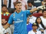 Лунин не попал в стартовый состав «Реала» на матч с «Кадисом»