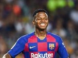 17-летний нападающий «Барселоны» Фати установил рекорд примеры