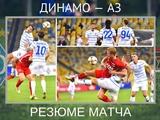 ВИДЕО: Резюме матча «Динамо» — АЗ, оценки игрокам