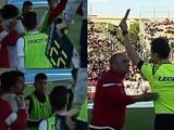 ВИДЕО: В Италии главный тренер ударил футболиста своей команды и был за это удалён