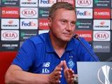Александр Хацкевич: «Сейчас Лига Европы — оптимальный для нас турнир»