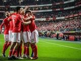 «Бенфика» победила со счетом 10:0 в матче чемпионата Португалии
