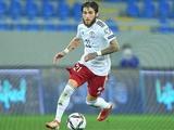 Евроотбор ЧМ-2022, результаты четверга: Цитаишвили дебютировал за Грузию