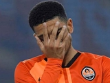 Тайсон после матча «Шахтер» — «Рома» закрылся в туалете и не хотел говорить со Срной и Каштру