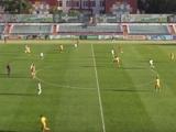 ВИДЕО: В первой лиге — снова гол с центра поля!