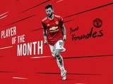 Бруну Фернандеш в 6-й раз признан игроком месяца в «Манчестер Юнайтед»