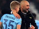 «Зинченко играет на топ-уровне». Гвардиола в восторге от игры украинца