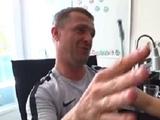 Сергей Ребров: «Когда мяч под левой у Юры Калитвинцева, можно было смело бежать открываться за спину защитникам»