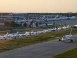 Во время финала Лиги чемпионов одну из взлетных полос «Борисполя» сделают стоянкой самолетов