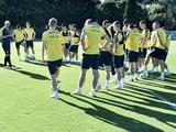 Александр Зубков сегодня вернется к тренировкам в общей группе сборной Украины