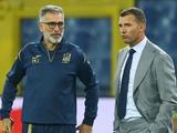 Андрей Шевченко: «Тассотти был первым, кого я выбрал в свой тренерский штаб»