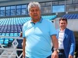 Мирча Луческу возложил цветы к памятнику Лобановскому и смотрит матч «Динамо U-19»