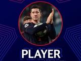 Левандовски — игрок недели в Лиге чемпионов