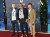 Президент и тренер «Динамо» посетили финал Лиги чемпионов (ФОТО)