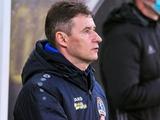 Виталий Шумский: «Отставка стала неожиданной, ведь с «Динамо» мы на равных провели второй тайм»