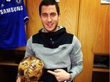 Азара наградили деревянным «Золотым мячом»