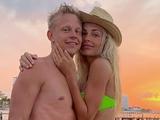 Зинченко с Владой Седан на пляже в Мексике (ФОТО)